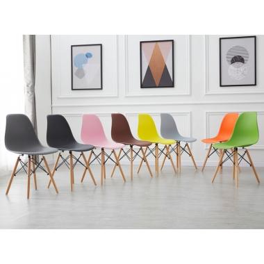 胜芳家具批发咖啡椅 伊姆斯 创意椅 塑料凳 设计师椅 时尚简约 休闲椅 伊姆斯椅子 餐厅家具 书房家具 休闲家具 扣椅 畅健博家具