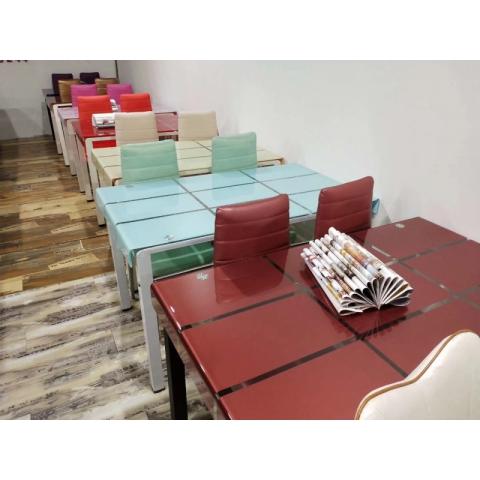 胜芳茶几 玻璃茶几 平板玻璃茶几 钢化玻璃茶几 客厅茶几 客厅家具批发 天昊家具