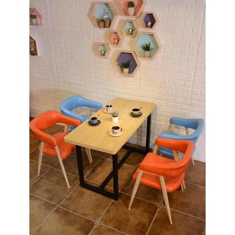 胜芳餐桌椅批发 复古式餐桌椅 主题餐桌椅 转印餐桌椅 钢木家具 快餐桌椅 休闲家具 会所家具 酒店家具 奥宁家具