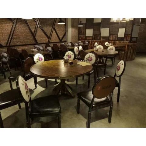 万博Manbetx官网餐椅批发简约现代实木餐椅家用靠背休闲餐厅酒店咖啡厅酒店椅创意万博manbetx在线快餐椅子实木餐椅A字椅仿古椅恒友万博manbetx在线