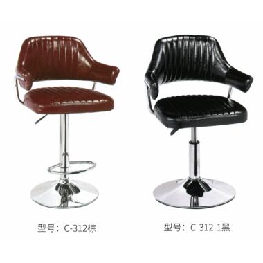胜芳各种酒吧椅批发 酒吧椅 实木吧椅 升降吧椅 美容美发椅 铁艺吧椅 复古式吧椅 KTV吧椅 宝山家具