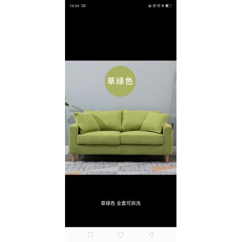 万博manbetx下载app布艺沙发  大双人沙发 小户型客厅沙发   榉木腿沙发 加厚海绵坐垫