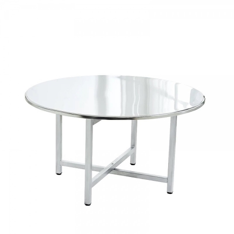 万博Manbetx官网不锈钢镀锌桌面批发 学校食堂餐桌 饭店桌子