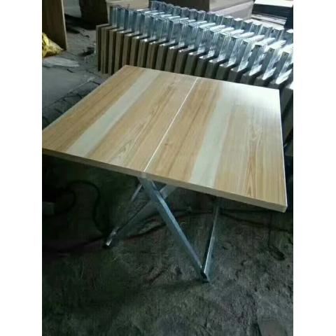 胜芳折叠桌 小型折叠桌 小书桌 手提桌 小方桌 木质折叠桌 户外桌 户外家具批发  玉山家具