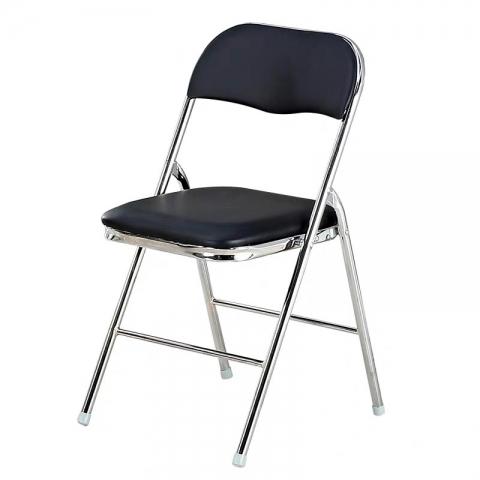 胜芳折叠椅批发 22型电镀折椅  折叠椅 家用会客椅  电脑椅 办公椅 培训椅 会议椅 华特家具