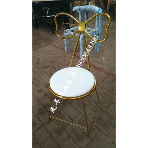 胜芳家具批发蝴蝶椅梳妆椅咖啡椅