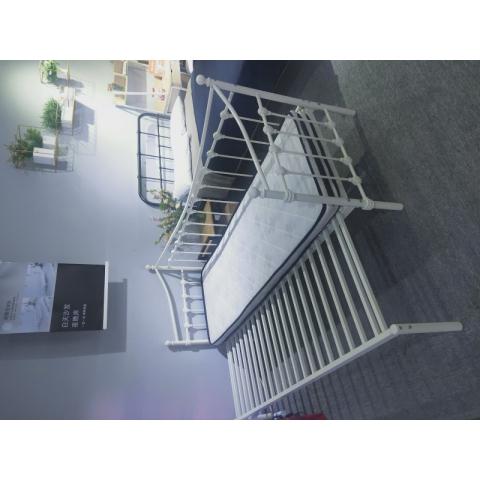 胜芳铁床批发公寓床单人床推拉床沙发床两用床