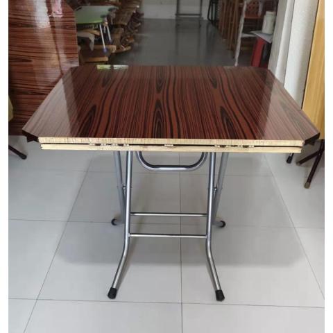 胜芳折叠桌批发 手提桌 方圆桌 折叠桌 木质折叠桌 家用餐桌 户外桌 户外家具批发 裕鑫家具