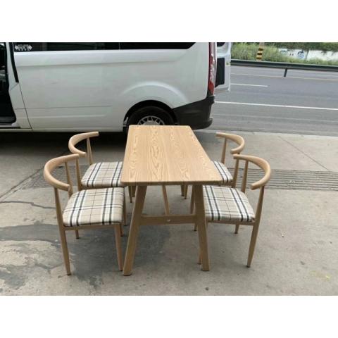胜芳餐桌椅批发 复古式餐桌椅 转印餐桌椅 实木餐桌椅 快餐桌椅 小园桌布艺 洽谈 接待 北欧咖啡桌椅 强大家具