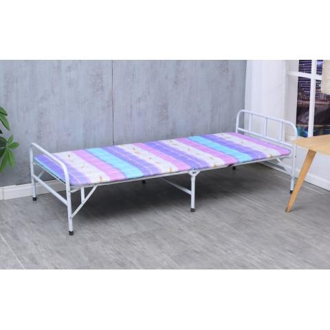 胜芳床铺批发 折叠床 单人床 铁艺折叠床 双人床 四折床 午休床 折叠椅 行军床 简易床 铁质板床 板床批发 威源家具