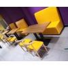 胜芳家具批发 卡座 咖啡椅 懒人椅 沙发椅 复古铁艺卡座 休闲 餐馆西餐厅咖啡厅桌椅组合 谈桌椅组合 鼎鑫家具