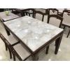 胜芳家具批发 餐桌 玻璃餐桌玻璃餐台欧式餐台 小户型玻璃餐桌 餐厅家具 欧式家具 广瀛家具