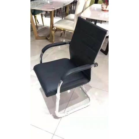 胜芳批发 大班椅 弓形办公椅 四腿办公椅电脑椅 家用椅 办公家具 职员椅 现代简约座椅 靠背椅子瑞松家具