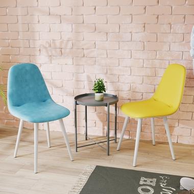 北欧椅子现代简约书桌凳子靠背学生电脑椅家用网红少女ins风餐椅