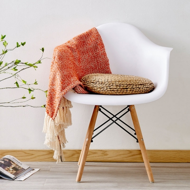 伊姆斯扶手椅子创意时尚现代简约个性艺术凳子塑料靠背椅北欧餐椅