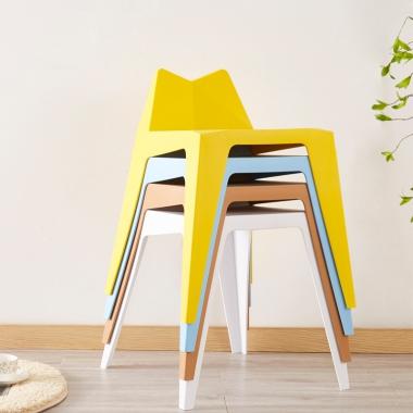 塑料凳子椅子客厅板凳时尚家用创意高凳加厚成人简约餐厅高餐桌凳