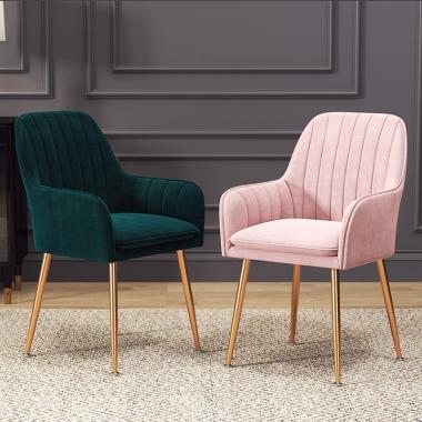北欧椅子ins网红化妆公主椅简易书桌椅家用靠背餐椅创意懒人凳子