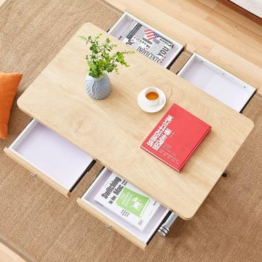 多功能升降茶几餐桌两用小户型可折叠家用客厅一体式茶几变饭桌