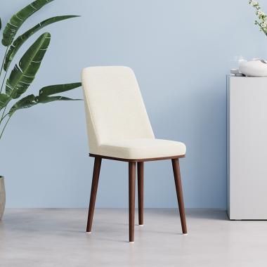 北欧餐椅成人现代简约家用餐桌椅子餐厅时尚北欧风凳子白色靠背椅