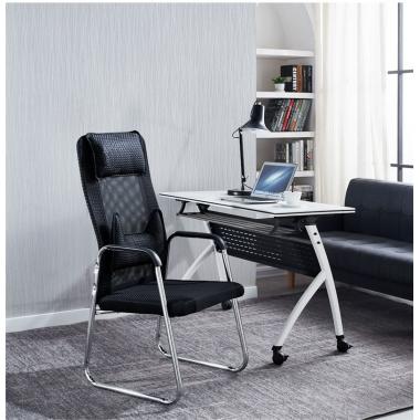 电脑椅家用弓形办公室椅子人体工学座椅简约办公椅舒适久坐靠背椅