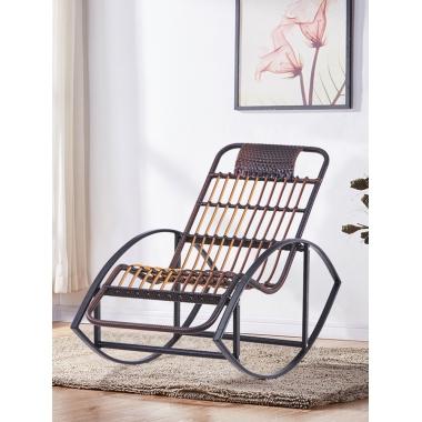 摇椅藤椅成人休闲躺椅逍遥椅老人摇摇椅午休椅阳台室内户外懒人椅
