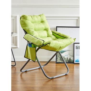 学生懒人沙发简约卧室靠背躺椅子阳台单人小户型宿舍折叠电脑椅子