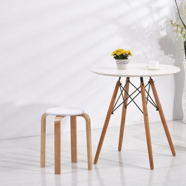 凳子折叠小凳子时尚创意成人加厚高凳矮凳方圆凳实木板凳家用
