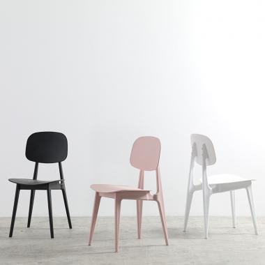 现代简约家用塑料北欧凳子网红ins风少女房间椅卧室餐椅靠背椅子