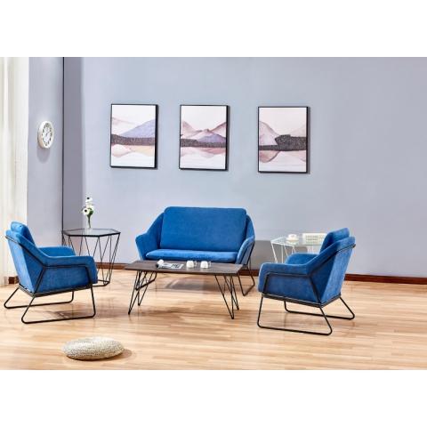 胜芳家具批发 咖啡椅 懒人椅 沙发椅 复古铁艺卡座 休闲 餐馆西餐厅咖啡厅桌椅组合 谈桌椅组合 晟奥家具
