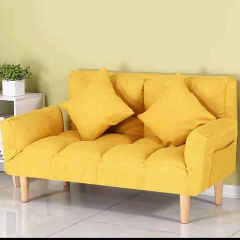 胜芳懒人沙发批发 贵妃榻 简易折叠小沙发