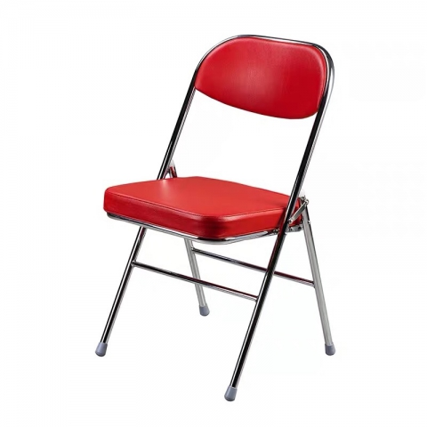 胜芳折叠椅批发 大背椅 天坛椅质量折叠椅 电镀椅 家用会客椅  电脑椅 办公椅 培训椅 会议椅 华特家具
