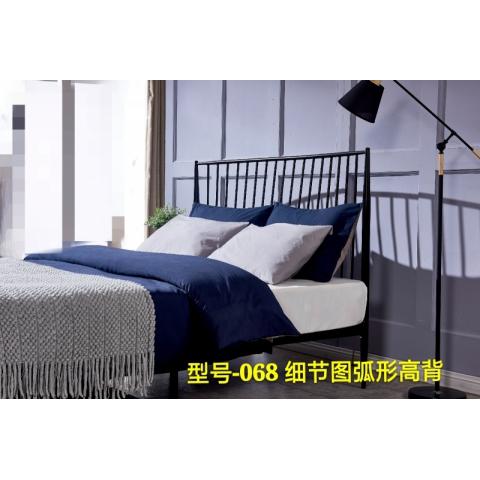 铁艺床万博体育下载ios公寓铁床单人床双人床大床高低调节床架加厚床迪雅佳