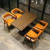 胜芳餐桌椅批发 复古式餐桌椅 主题餐桌椅 转卓群家具