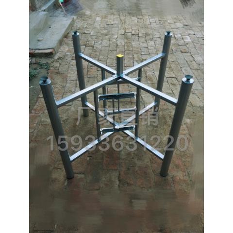 万博Manbetx官网桌架批发 弹簧架子 50圆十字架 大圆桌架子 折叠桌架