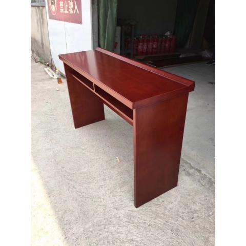 办公桌会议条桌培训桌木皮