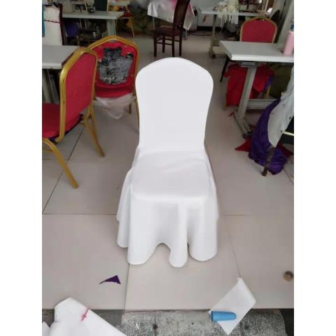 胜芳酒店椅套批发 酒店弹力椅套 婚庆宴会餐厅连体椅子套罩 家用 酒店用椅套批发多色 饭店椅套 启瑞家具