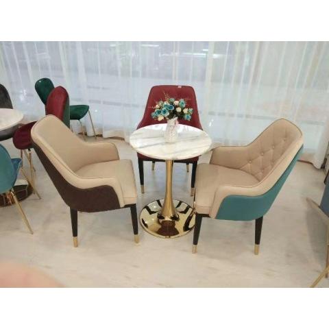 万博Manbetx官网休闲轻奢桌椅批发,咖啡桌椅,网红桌椅,洽谈,接待桌椅,钛金桌椅,北欧钛金桌椅 建军万博manbetx在线