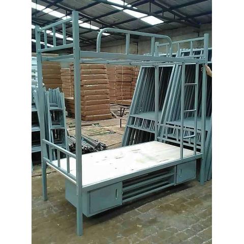 胜芳折叠床 龙骨床 双人床 铁艺床 简约欧式床 架子床 行军床 单人床 批发 付强家具折叠床批发