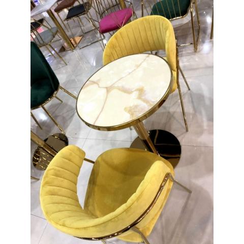 万博Manbetx官网休闲轻奢桌椅批发,咖啡桌椅,网红桌椅,洽谈,接待桌椅,钛金桌椅,北欧钛金桌椅 佳美酒店万博manbetx在线