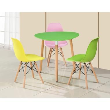 胜芳家具批发 伊姆斯桌 休闲椅 咖啡台 咖啡桌椅组合 小圆桌 三件套会客桌椅 接待桌椅 洽谈桌椅 简约现代 桐欣家具