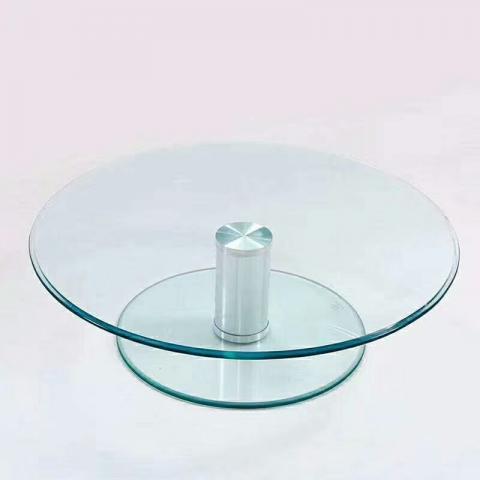 胜芳转盘批发 玻璃转盘 餐桌转盘 桌面转盘 实心大转盘 钢化玻璃转盘 酒店家具 振峰家具