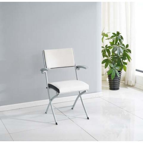 胜芳折叠椅批发 软包折叠椅 双折椅 办公椅 电脑椅 家用会客椅 培训椅 靠背折叠椅 匠邦家具