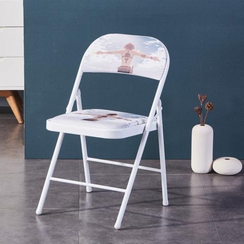 胜芳折叠椅批发 培训椅 塑料凳 可折叠椅子 职员办公接待椅 会场靠背椅子 会议折椅 正临家具