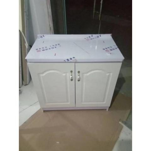 胜芳橱柜批发 简易橱柜 单体橱柜 板式面橱柜 不锈钢面橱柜 三开门橱柜 水槽柜 厨房家具 餐厨家具 优美特家具
