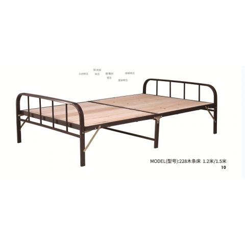 胜芳床铺批发 折叠床 单人床 铁艺折叠床 双人床 四折床 午休床 折叠椅 行军床 简易床 铁质板床 板床批发 恒泰家具