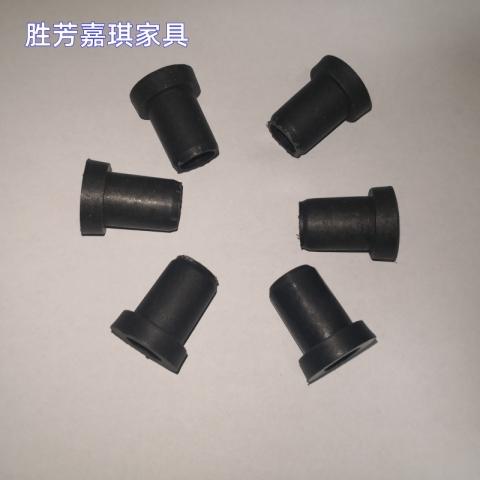 【嘉琪家具】 厂家直供自重回弹排椅维修配件 轴套 尼龙轴套 排椅减震圈