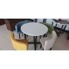 胜芳餐桌椅批发 4+1会议桌椅主题餐桌椅 卓群家具