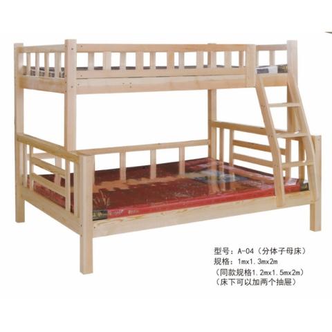 胜芳家具批发 子母床 实木子母床 儿童床 上下床 实木上下床 高低床 双层床批发 卧室家具 儿童家具 柏丽达家具