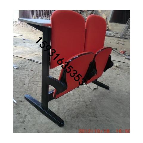 河北胜芳软包连体排椅,河北胜芳会议厅软包连体课桌椅