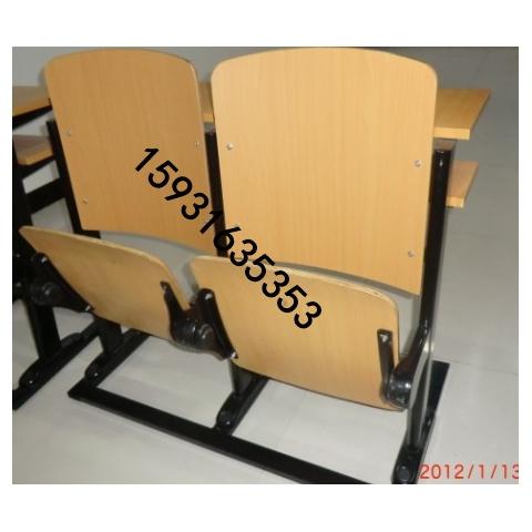 河北胜芳板式连体排椅,阶梯教室排椅